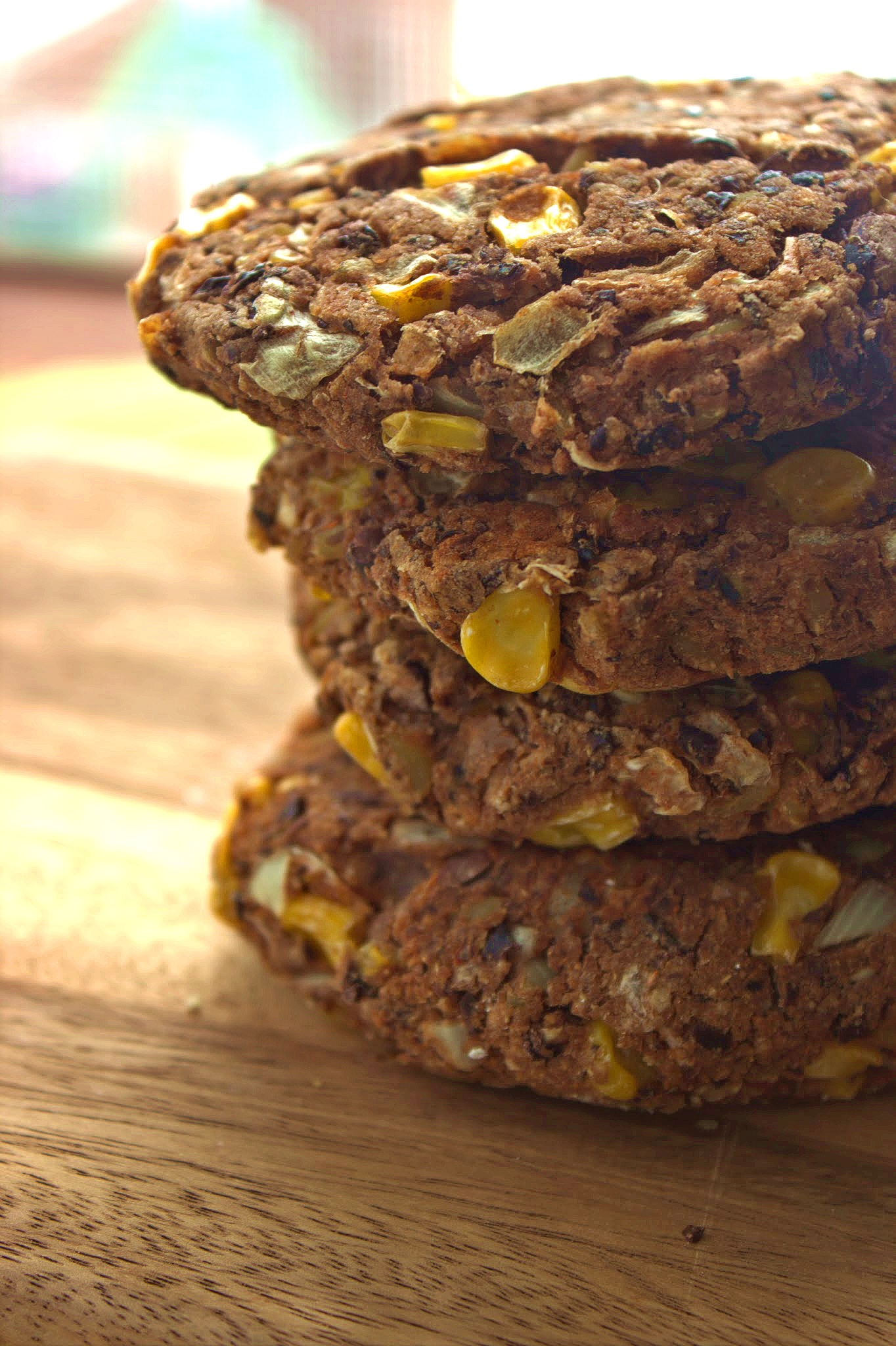 Spicy Black Bean Burgers Inspired By Morningstar Farms And They