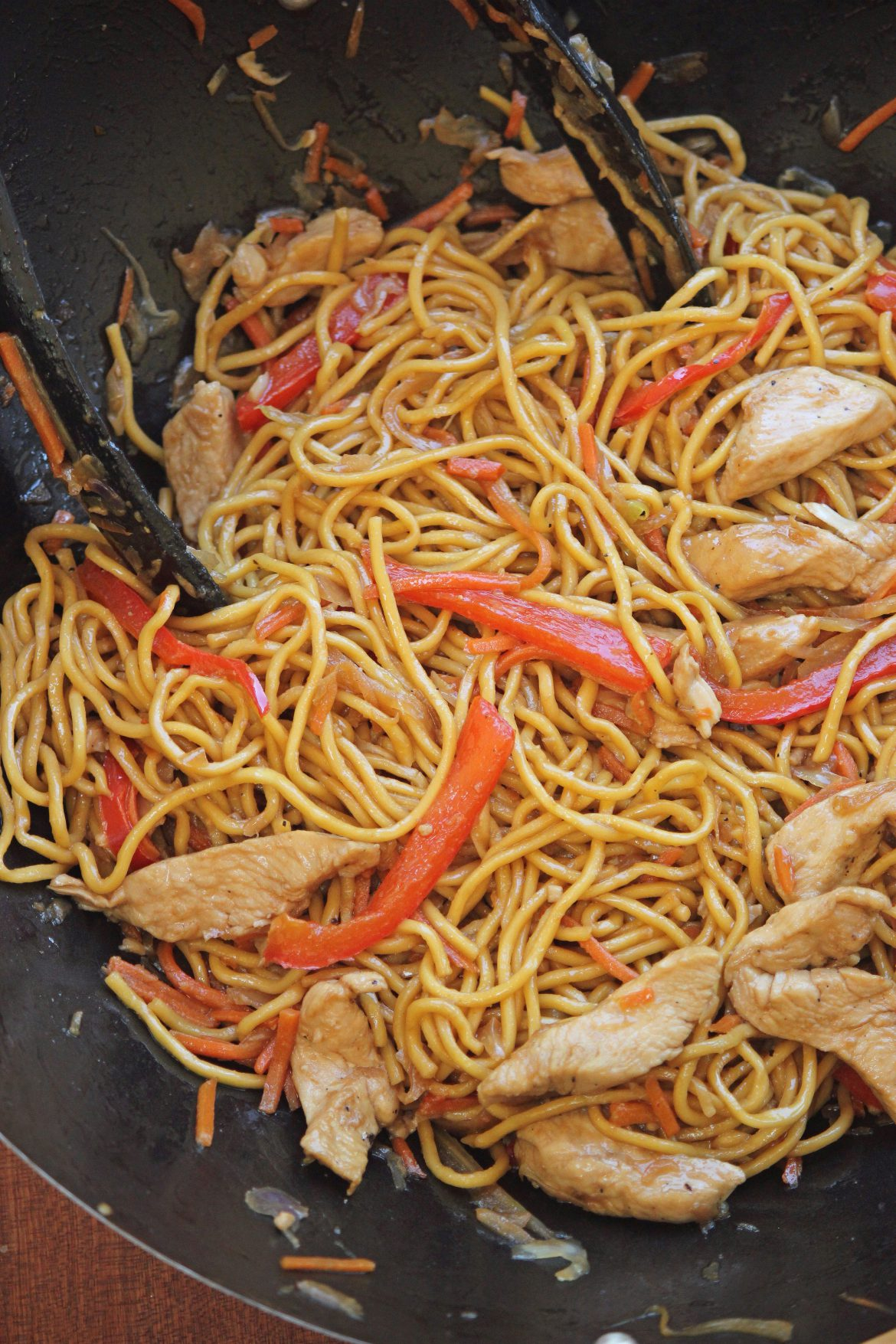 Just Like Takeout Chicken Lo Mein And They Cooked Happily Ever After